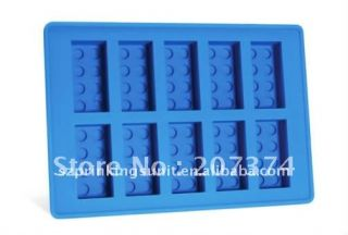 LEGO SHAPED BRICK ICE CUBE TRAY CHOCOLATE MOULD   SENT 1ST CLASS