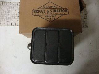 BRIGGS & STRATTON ONE GALLON GAS TANK FUEL TANK NOS OEM VINTAGE PETROL