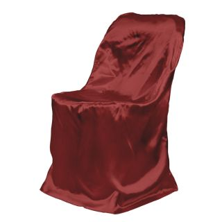Satin Folding Chair Cover High Quality for Wedding Shower or Party
