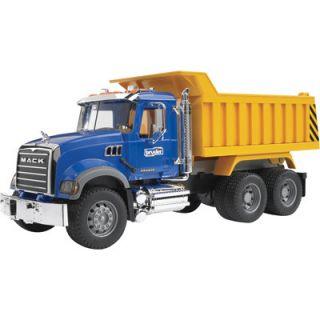 bruder mack granite dump truck 1 16 scale 2815 northern tool item