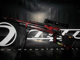 Custom Made Empire BT Trracer Paintball Marker Sniper Rifle