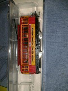 Model Power n scale Brill Trolley with Dummy
