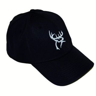 Black A Flex Fitted Hat Cap Deer Logo Luke Bryan E3 Ranch
