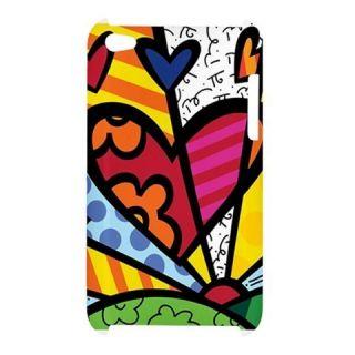 Romero Britto Love Art iPod Touch 4G 4th Generation Case Cover