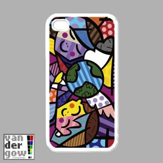 BRAND NEW Romero Britto iPhone 4 Hard Case Cover