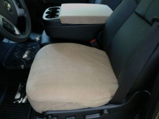 Auto Seat Covers for Bucket Seats Bottom Only Console Cover D1 LTN 3