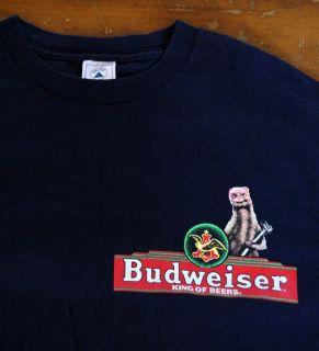 Iguana Promo T Shirt 1998 Large Bud Light Best Day of My Life