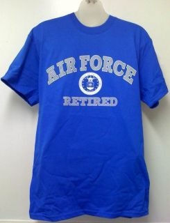US Air Force Retired T Shirt USAF Air National Guard XL