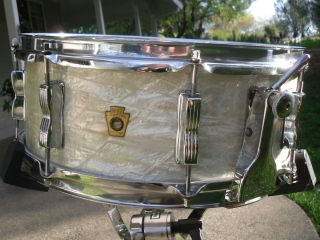 Ludwig WFL Snare Drum Buddy Rich Model 1957 Date Stamp