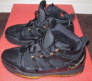 Vtg 2005 Shoes Nike Air Lebron Bron III 3 US Size 7 LBJ King James