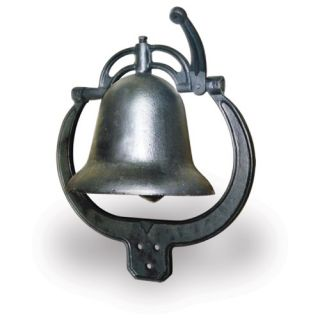 Buffalo Tools Cast Iron Farm Bell Cifbell