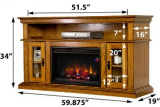 electric fireplace tv stand fireplaces accessories castlecreektm media