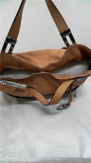 Michael Kors Brookton EW Large Double Strap Handbag Tan Bag Purse