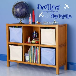 Brothers Who Vinyl Lettering Wall Quotes Decals Art