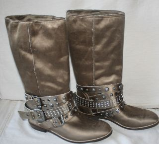 Guess Womens Summit Boots Brown New in Box $159 Retail