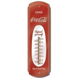 Coca Cola Coke Thermometer Gas Station Game Room Store Garage Bar Beer