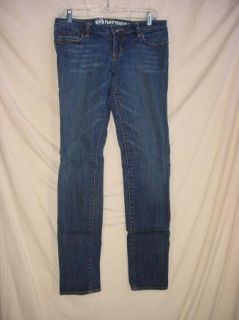 Bullhead Hermosa Womens Juniors Jeans Super Skinny Blue Size 7R meas
