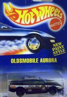Hot Wheels 265 Oldsmobile Aurora K 9 Unit Police Car