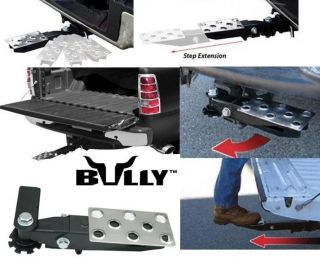 Bully as 551 Retractable Tailgate Truck Van Hitch Step IH1