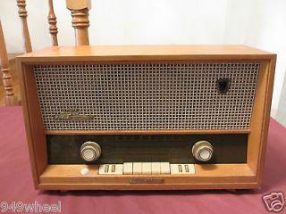 grundig majestic model 2065 vintage radio  399