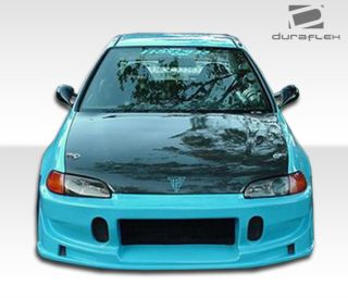 1995 Honda Civic Duraflex Buddy Front Bumper 1 Piece 101114