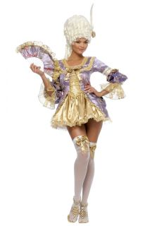 sexy womens marie antoinette halloween costume fancy dress