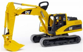 Bruder Toys Cat Caterpillar Excavator Kids Toy 02439 New Same Day SHIP