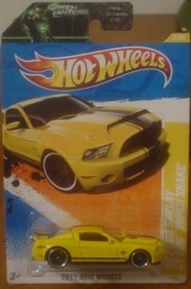 Hot Wheels 2011 New Models 10 Ford Shelby GT 500 Super Snake