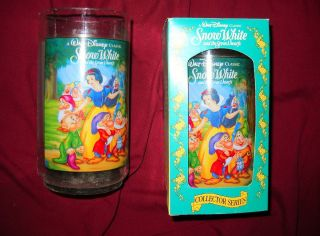 1994 Walt Disney Collector Series Snow White Burger King Cup $1