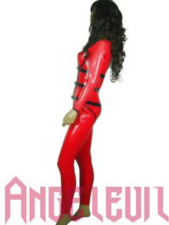 latex teddies transperant free brust leotard lady`s with straps #01023