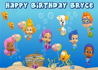 Bubble Guppies Frosting Sheet Edible Cake Topper 1 4 Sheet