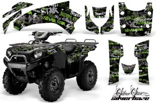 AMR Racing Kawasaki Brute Force 750 ATV Graphics Kit SH
