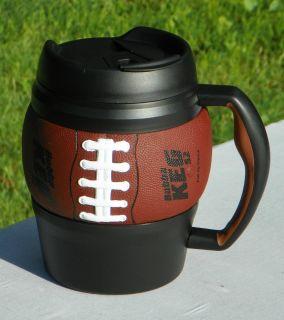 Football Bubba Sport Keg Mug 52 oz Tailgate