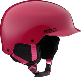 Burton Red Defy Helmet Youth Bright Pink Extra Large Ski Snowboard New