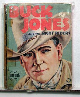 1937 Buck Jones Night Riders Big Big Book