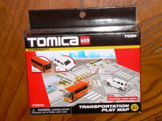 Tomy Tomica Hypercity 70504 Transportation Play Map Bus