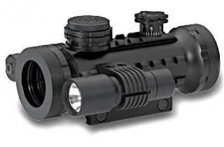 BSA Optics sts Multi Dot Matte Red, Green, Blue Dot Flashlight
