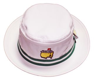 Masters Bucket Hat White