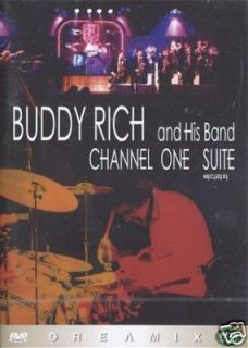 Buddy Rich and Band Channel One Suite DVD Jazz Drums