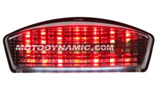 Buell S1 x1 M2 Blast LED Sequential Tail Lights Smoke 94 07 B BST S