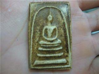 Thai Amulet Buddha Phra Somdej Pendant Powder Bangkok Lucky Amulets