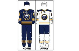 NHL New York Buffalo Sabres Hockey Jersey Replica Size XXL Division