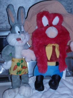 Bros Yosemite Sam and Bugs Bunny Collectible Looney Tunes 1995