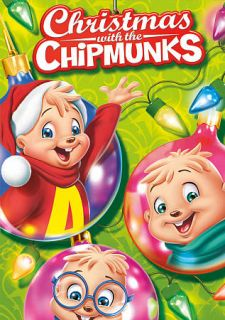 Alvin and the Chipmunks Christmas with the Chipmunks DVD 2012