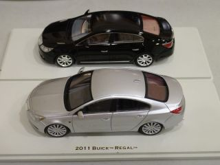 Collectibles Set of 2 2011 Buick Lacrosse A Buick Regal GS