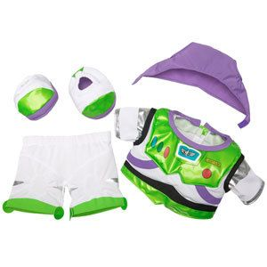 Build A Bear Toy Story Buzz Lightyear Costume 4 PC New