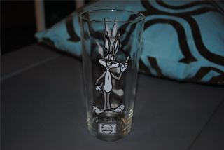 Looney Tunes Bugs Bunny Glass Pepsi Collectible Retro RARE 6