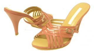 Label Downtown Style Mauve Color Women Sandal Size 8