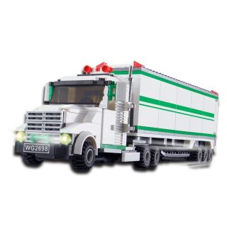 Truck Set 352 Pcs Set Building Blocks in Large Gift Box