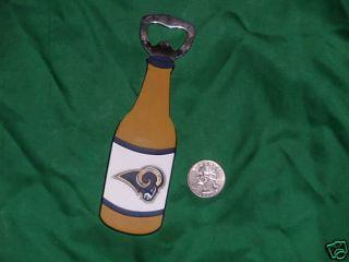 St Louis Rams Bottle Opener Magnet Bulger N FreeShip